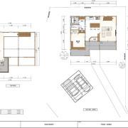剣崎平屋 屋根裏部屋2階建ての空間利用