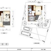 剣崎町計画2 平面図